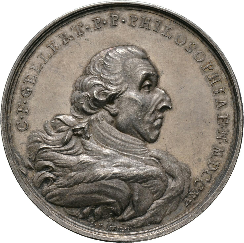 Silbermedaille 1769, Sachsen, Leipzig, Stadt