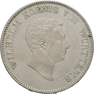 Doppelgulden 1825, Wilhelm I., Württemberg
