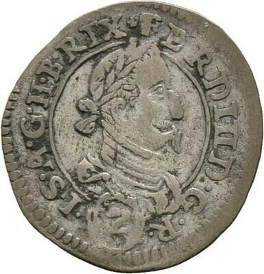 2 Kreuzer 1626, Ferdinand II., Haus Habsburg