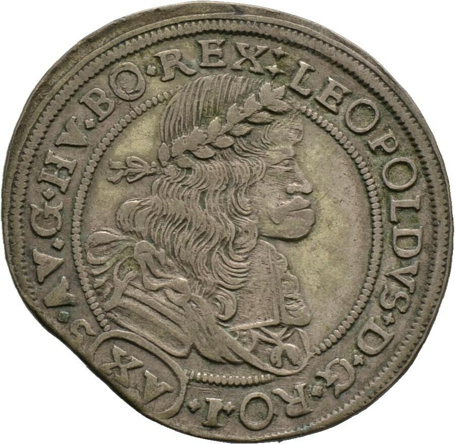 15 Kreuzer 1688, Leopold I., Haus Habsburg