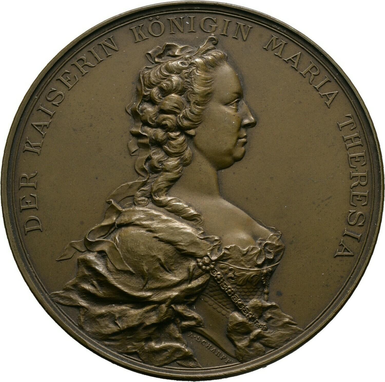 Bronzemedaille 1888, Franz I., Haus Österreich