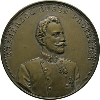 Bronzemedaille 1902, Franz I., Haus Österreich