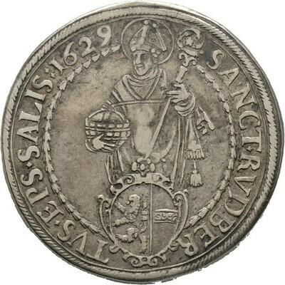 Taler 1629, Paris Graf von Lodron, Salzburg, Erzbistum