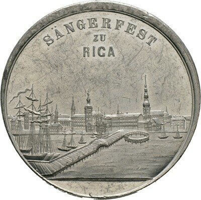 Zinnmedaille 1880, Baltikum-Riga, Stadt