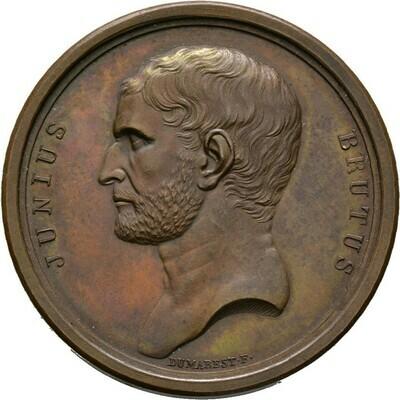 Bronzene Prämienmedaille o.J. (um 1800), Bonaparte, 1. Konsul, Frankreich