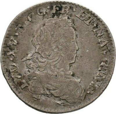 1/6 Ecu de France (Reformation) 1719(?), Louis XV., Frankreich