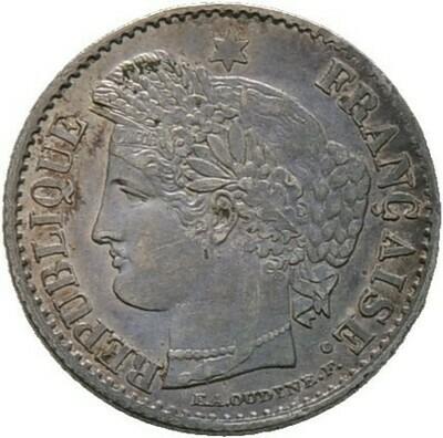 20 Centimes 1850, 2. Republik, Frankreich
