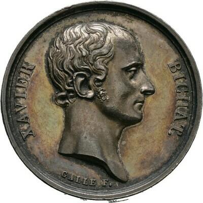 Silbermedaille 1807 von Gallé, Napoleon I., Frankreich