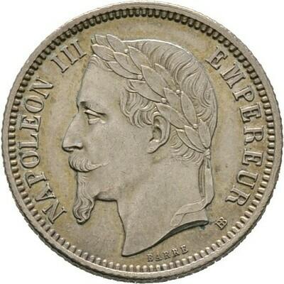 Franc 1870,  Napoleon III., Frankreich