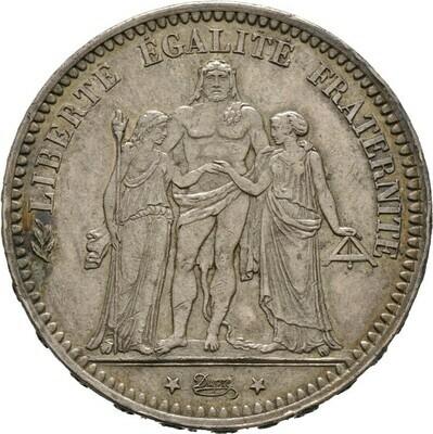5 Francs 1873, 3. Republik, Frankreich
