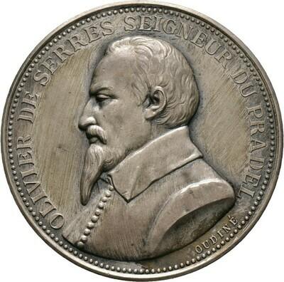 Silberne Prämienmedaille o.J. (1923), 3. Republik, Frankreich