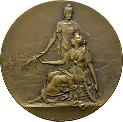 Bronzene Prämienmedaille 1928, 3. Republik, Frankreich