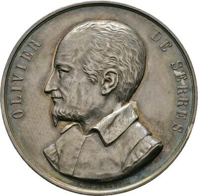 Silberne Prämienmedaille für Landwirtschaft o.J., Napoleon III., Frankreich