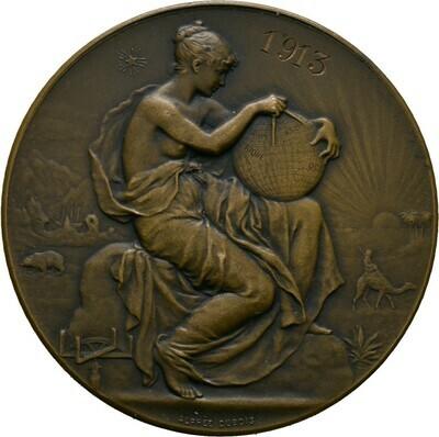Bronzene Prämienmedaille 1913, 3. Republik, Frankreich