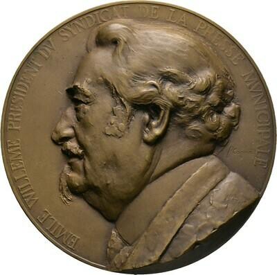 Bronzemedaille 1934, 3. Republik, Frankreich