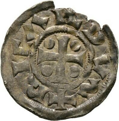 Denier -Rouen-, Richard I., Frankreich-Normandie