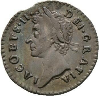 Penny 1686, Jakob II. 1685-1688, Großbritannien