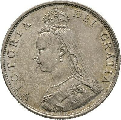 Florin 1887, Victoria, Großbritannien