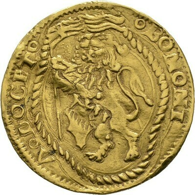 Doppio ducato (2 Bolognino d'oro) o.J., Giovanni II. Bentivoglio, Italien-Bologna