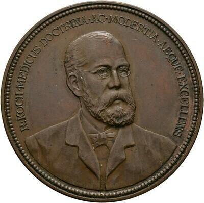 Bronzemedaille 1890 von Lauer, Medizin und Naturwissenschaften