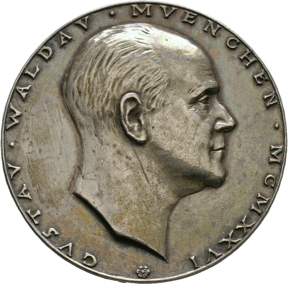 Silbergussmedaille 1926, Bernhart, Josef 1883-1967, Medailleure