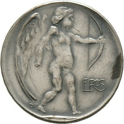 Kleine, versilberte Bronzemedaille o.J. (1905), Dasio, Maximilian, Medailleure