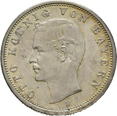 2 Mark 1900 D, Otto, Bayern