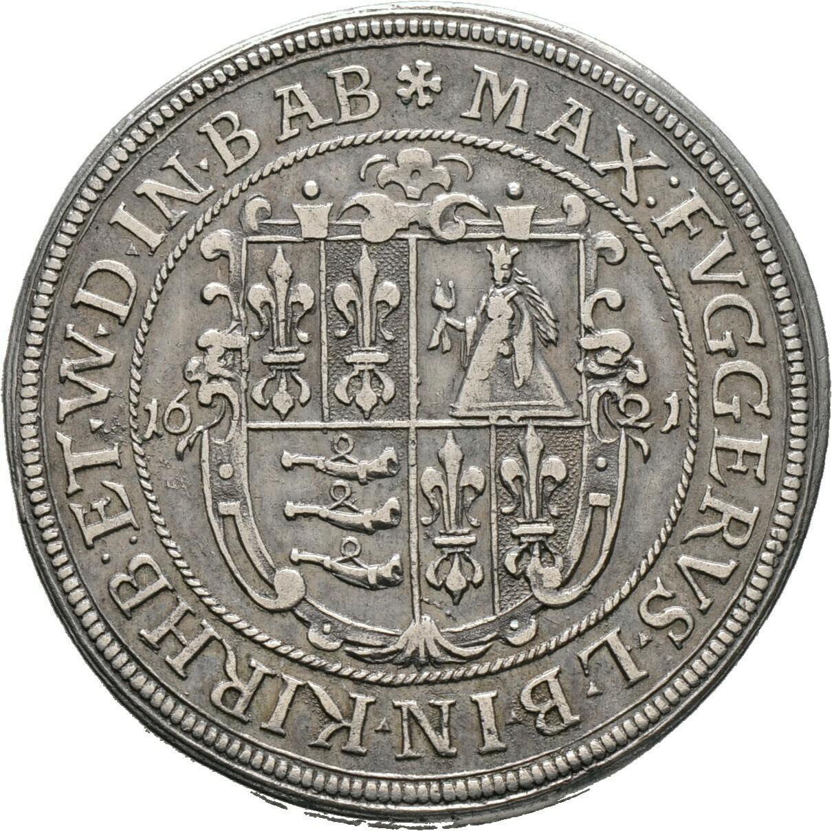 Taler 1621, Maximilian II., Fugger-Babenhausen-Wellenburg