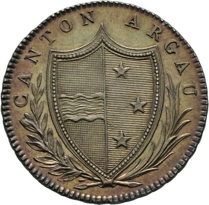20 Batzen 1809, Schweiz-Aargau, Kanton