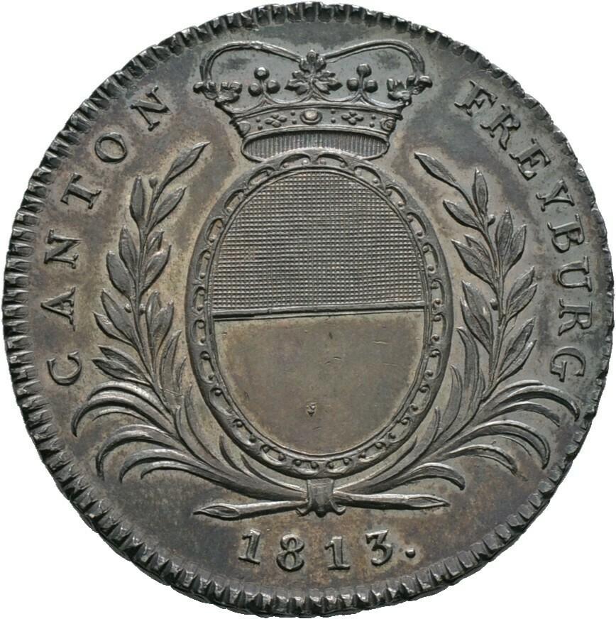 Neutaler zu 4 Franken 1813, Schweiz-Freiburg