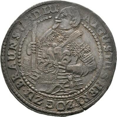 1/2 IV. Glockentaler 1643, August der Jüngere 1635-1666, Braunschweig-Wolfenbüttel