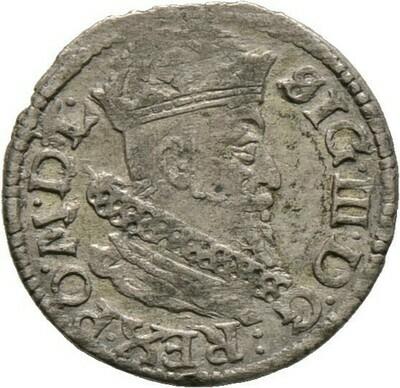 Groschen 162(!), Sigismund III. von Polen 1587-1632, Baltikum-Litauen