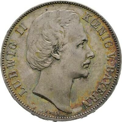Siegestaler 1871, Ludwig II. 1864-1886, Bayern