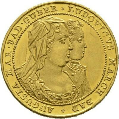 Dukat 1714, Ludwig Georg Simpert, Baden-Baden