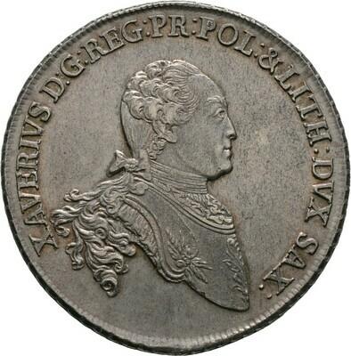 Konventionstaler 1766, Xaver 1763-1768, Sachsen-Albertinische Linie