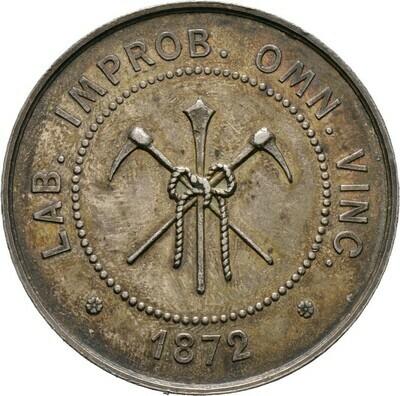 Silbermedaille 1872, 3. Republik, Frankreich