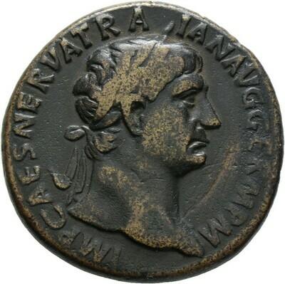 Sesterz 101/102 -Rom-, Trajanus 98-117, Kaiserzeit