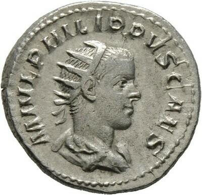Antoninian (als Caesar) -Rom-, Philippus II. 247-249, Kaiserzeit