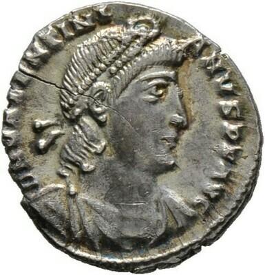 Siliqua 364/367 -Rom-, Valentinianus I. 364-375, Kaiserzeit