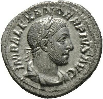 Denar 232 -Rom-., Severus Alexander 222-235, Kaiserzeit  
