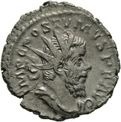 Antoninian 263/265 -Köln?-, Postumus 260-268, Kaiserzeit