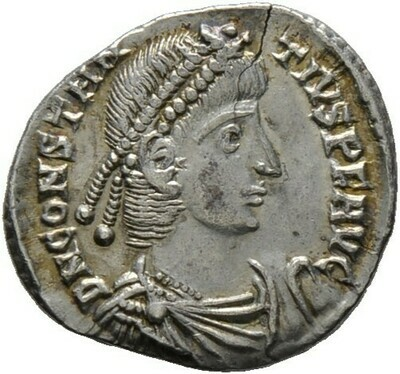 Siliqua 360/363 -Arelate-, Constantius II. 337-361, Kaiserzeit