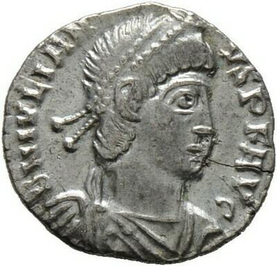 Siliqua -Arelate-, Julianus II. Apostata 360-363, Kaiserzeit