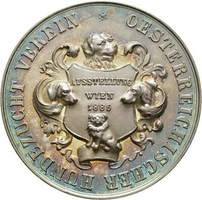 Silbermedaille 1886, Wien, Stadt