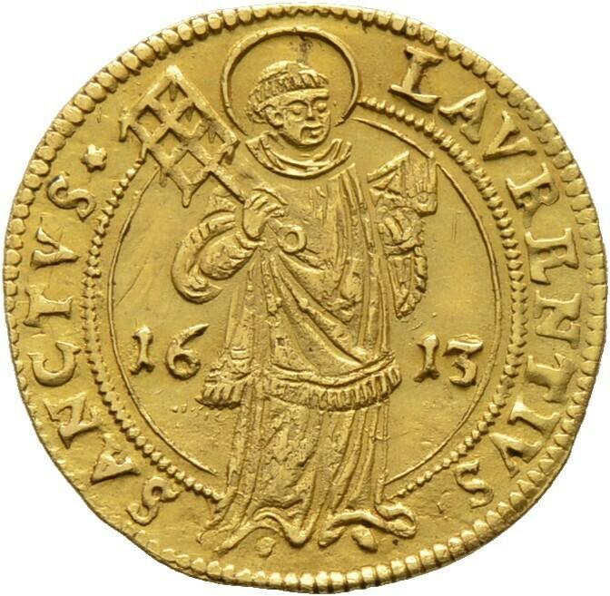 Goldgulden 1613, Nürnberg, Stadt