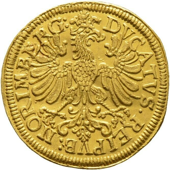 Dukat 1648, Nürnberg, Stadt