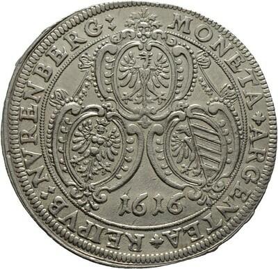 Taler 1616, Nürnberg, Stadt