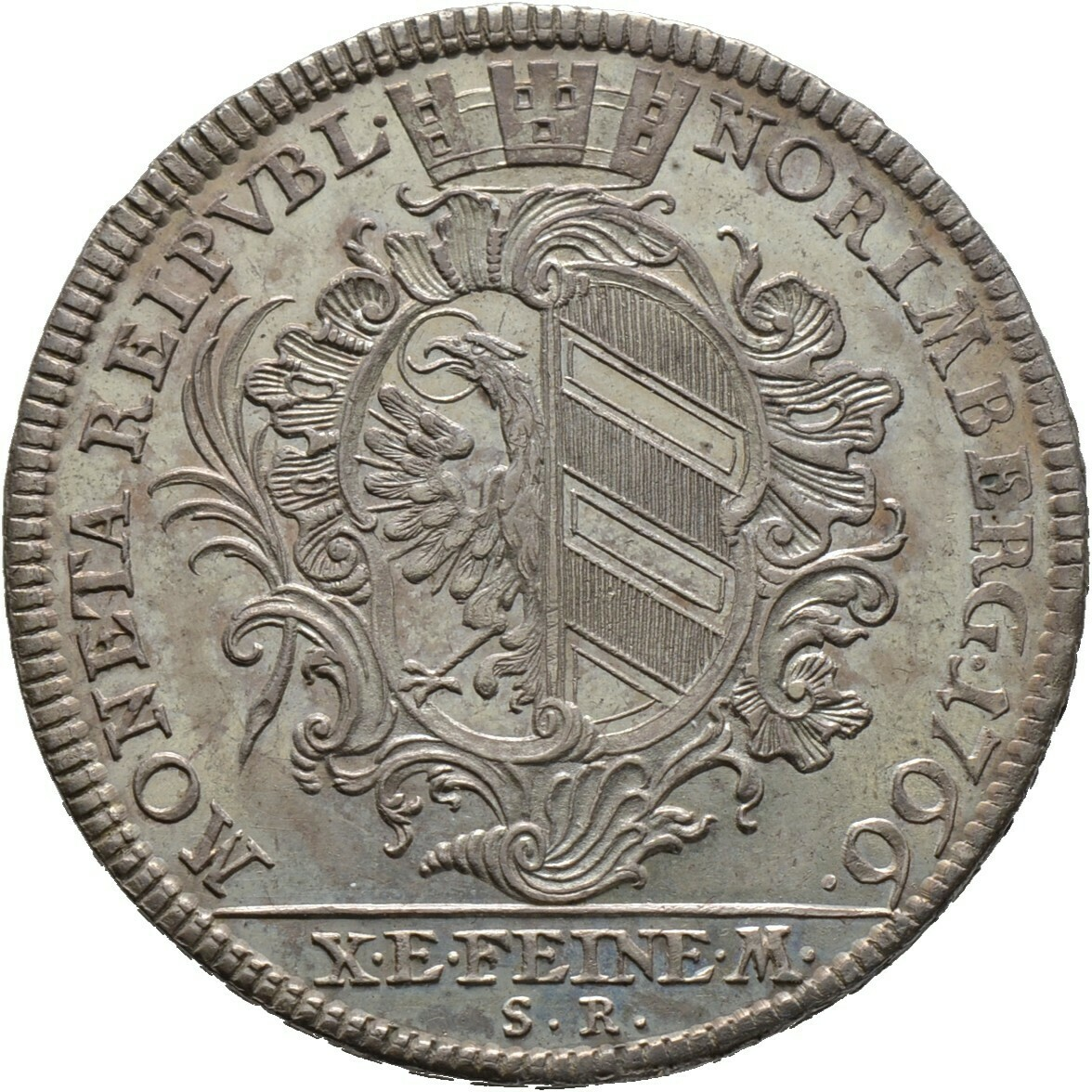 Konventionstaler 1766, Nürnberg, Stadt