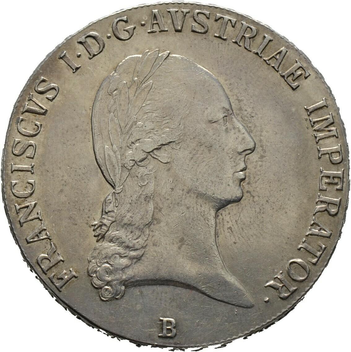 Konventionstaler 1823, Franz I., Haus Österreich