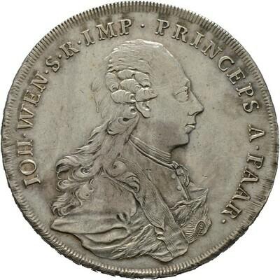 Konventionstaler 1771, Johann Wenzel, Paar, Fürstentum